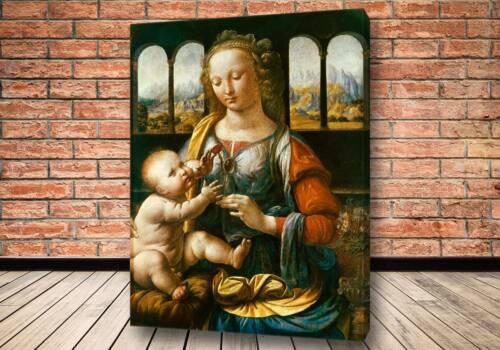 Картина Мадонна с гвоздикой