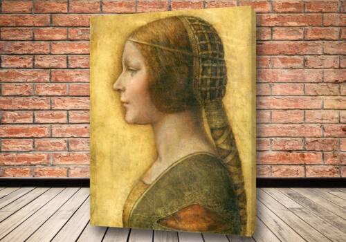Картина «Прекрасная принцесса», Портрет девушки в профиль