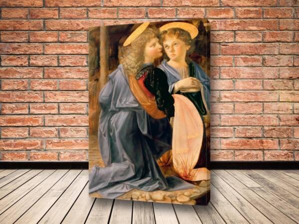 Картина Крещение Христа, фрагмент