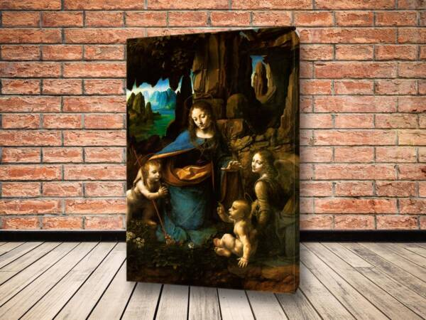 Картина Мадонна в скалах