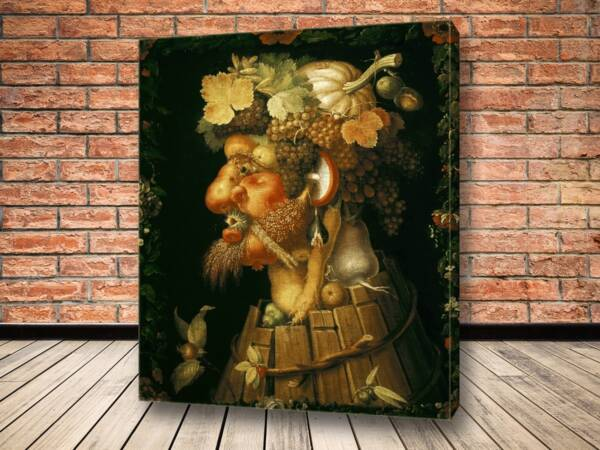 Картина Осень Джузеппе Арчимбольдо