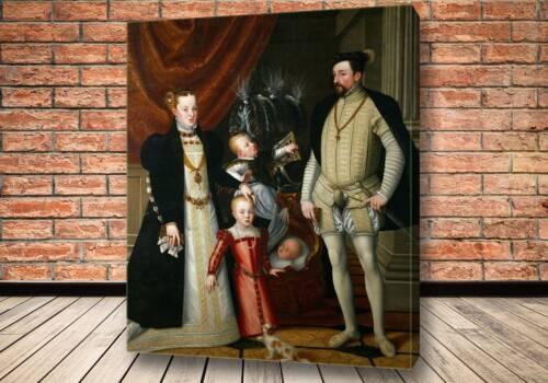 Картина Максимилиан II (1527-1576) с супругой