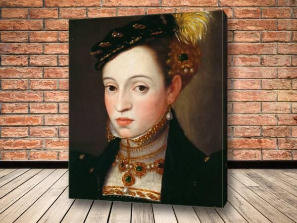 Картина Эрцгерцогиня Магдалена (1532-90)