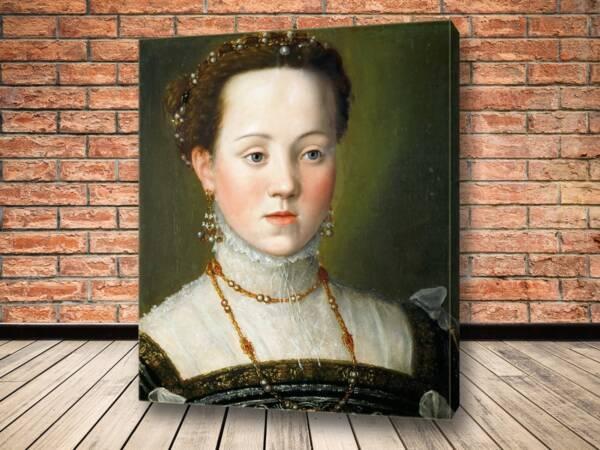 Картина Эрцгерцогиня Анна Австрийская, дочь императора Максимилиана II