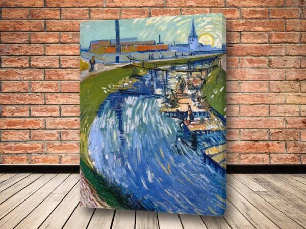 Картина Канал с прачками