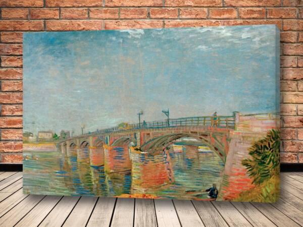 Картина Мост через Сену в Аньере