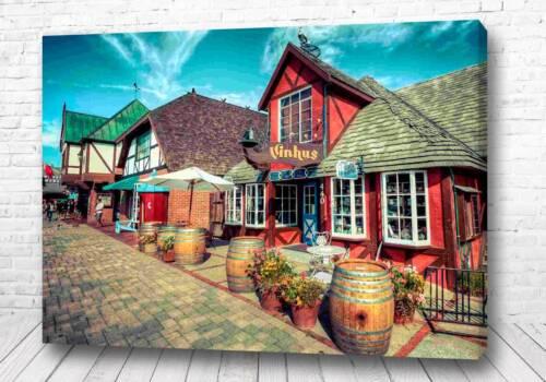 Постер Европейская деревня