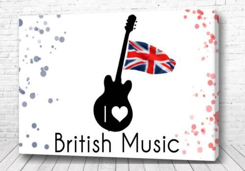 Постер Битлз гитара