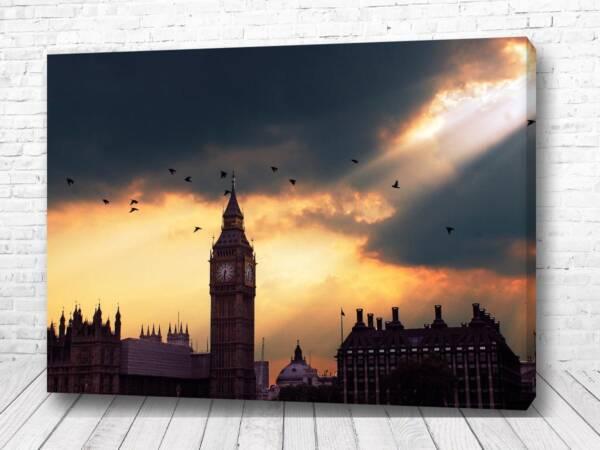 Постер Тучи над Лондоном