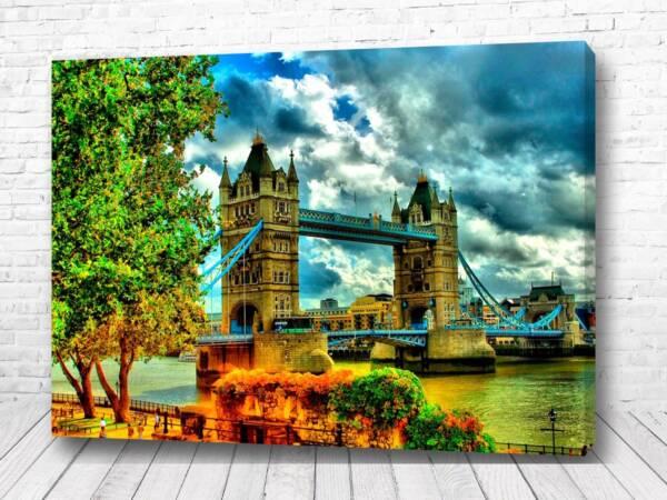 Постер Яркий мост