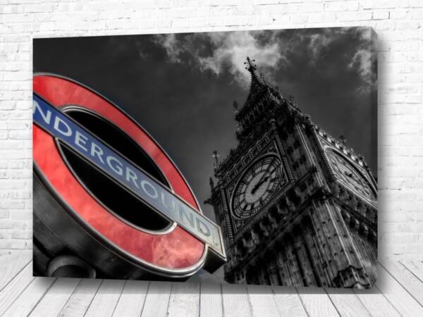 Постер Английское метро