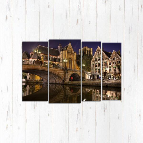 Брюгге городской мост