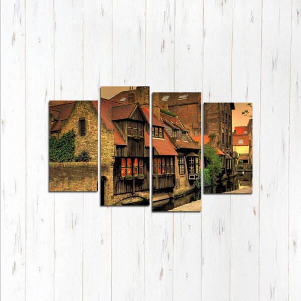Модульная картина Красивый дом