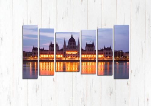 Модульная картина Здание Венгерского парламента