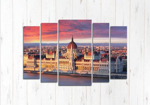 Модульная картина Венгерский парламент