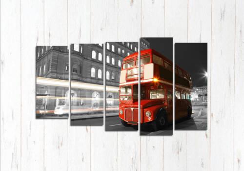 Модульная картина Автобус Лондонский
