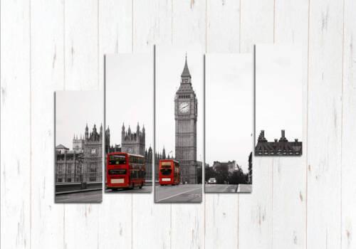 Модульная картина Англия Биг-Бен