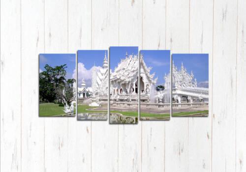Модульная картина Красивый белый храм
