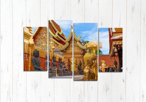 Модульная картина Храм Чиангмай