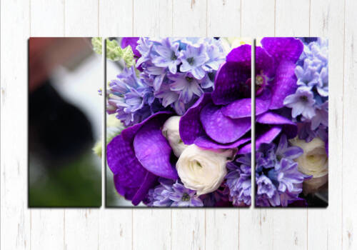 Фиолетовый букетик