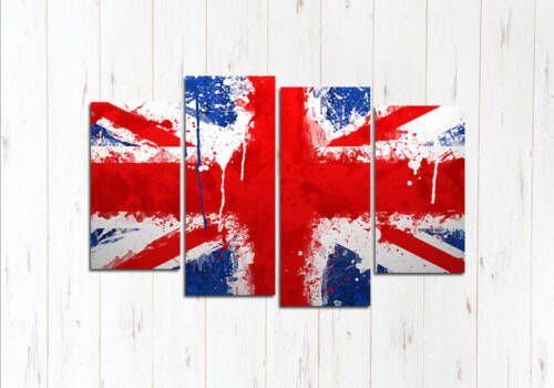 Модульная картина Английский флаг