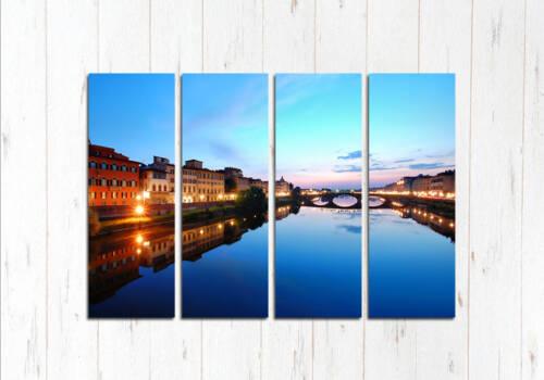 Модульная картина Флоренция на закате