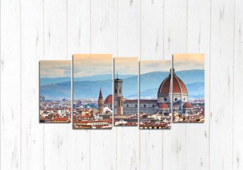 Модульная картина Виды Флоренции
