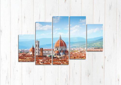 Модульная картина Прекрасная Флоренция