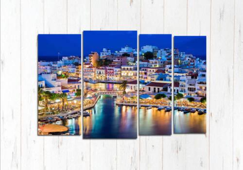Модульная картина Греческий остров
