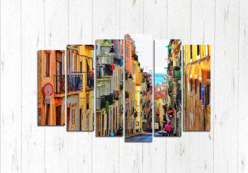 Модульная картина Улочка Лиссабона