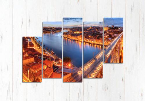 Модульная картина Мост в Лиссабоне