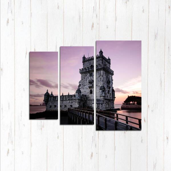 Башня Белен на закате