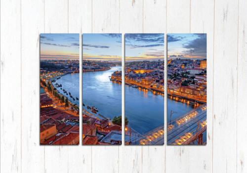 Модульная картина Река в Лиссабоне