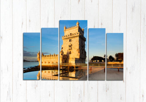 Модульная картина Башня Белен в Лиссабоне