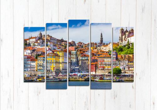 Модульная картина Пристань Лиссабона