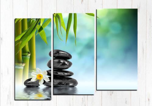 Модульная картина Бамбук и башня