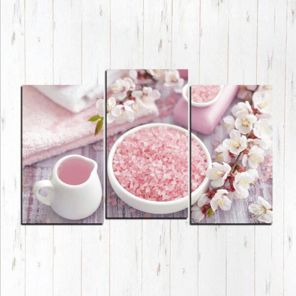 Модульная картина Розовые мечты