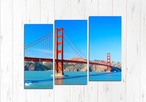 Модульная картина Солнечный день Сан Франциско