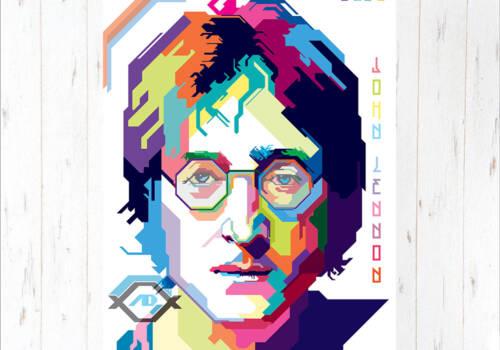 Постер Джон Леннон арт