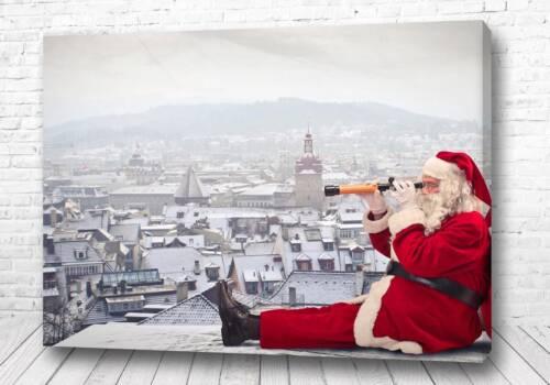 Постер Санта на привале