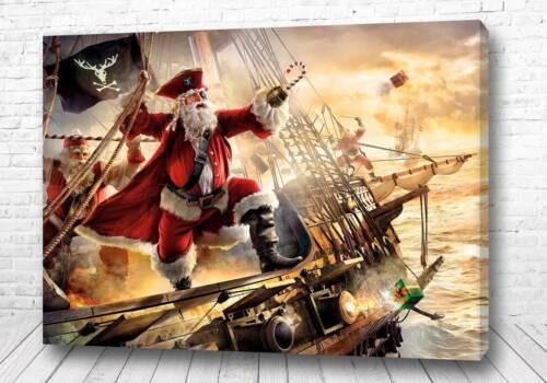 Постер Санта пират