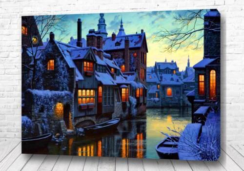 Постер Зимний город