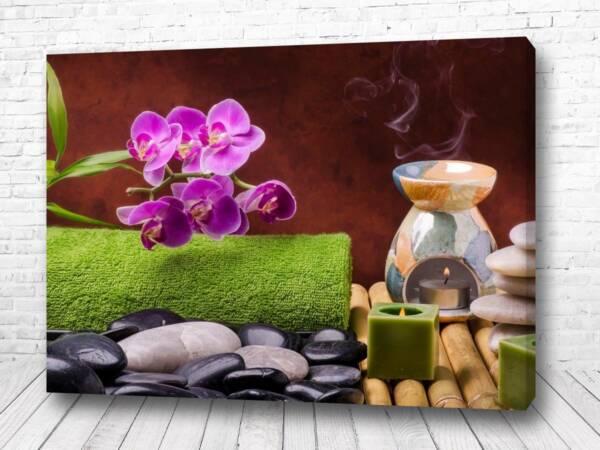 Постер Масла и свечи для отдыха
