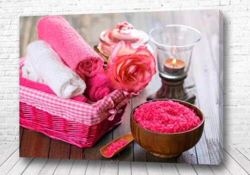 Постер Розовое спа