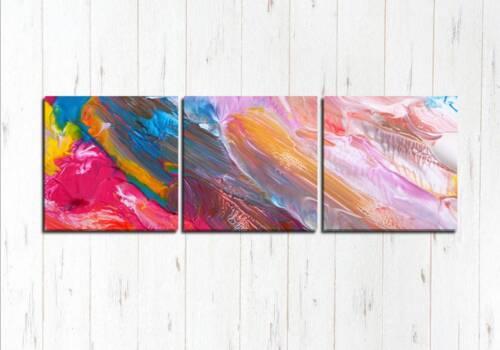 Модульная картина Краски на холсте