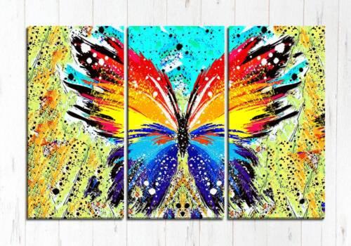 Модульная картина Абстрактная бабочка