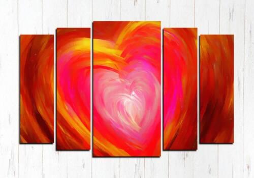 Модульная картина Сердце любви