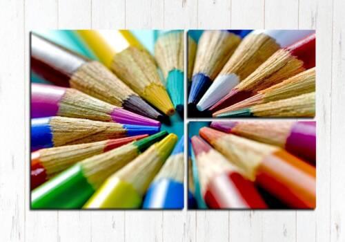 Модульная картина Палитра карандашей