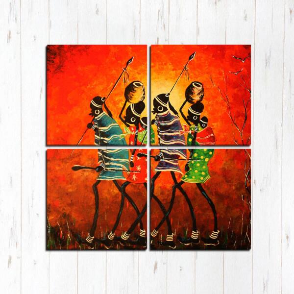 Африканские воины