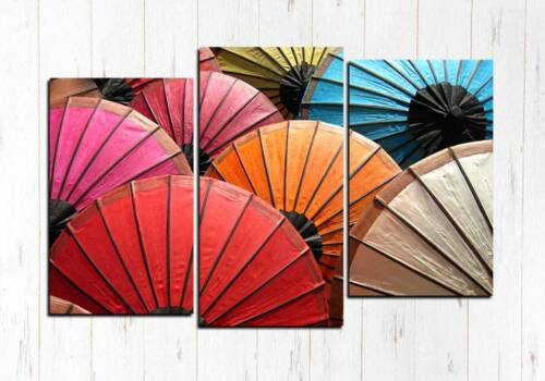 Модульная картина Зонтики